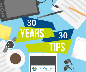 30 tips using class systems